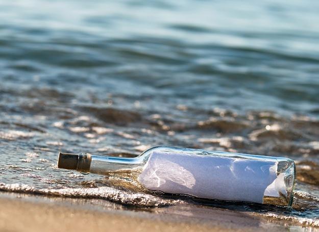 Fale Atlantyku niosły butelkę z listem przez osiem miesięcy /© Panthermedia