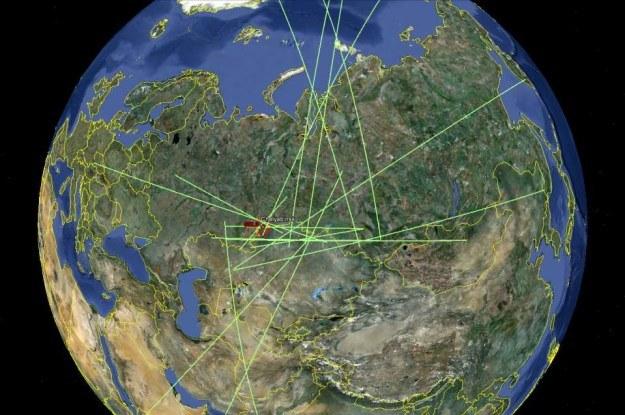 Falę uderzeniową Meteorytu Czelabińskiego odnotowało 20 stacji CTBTO /materiały prasowe