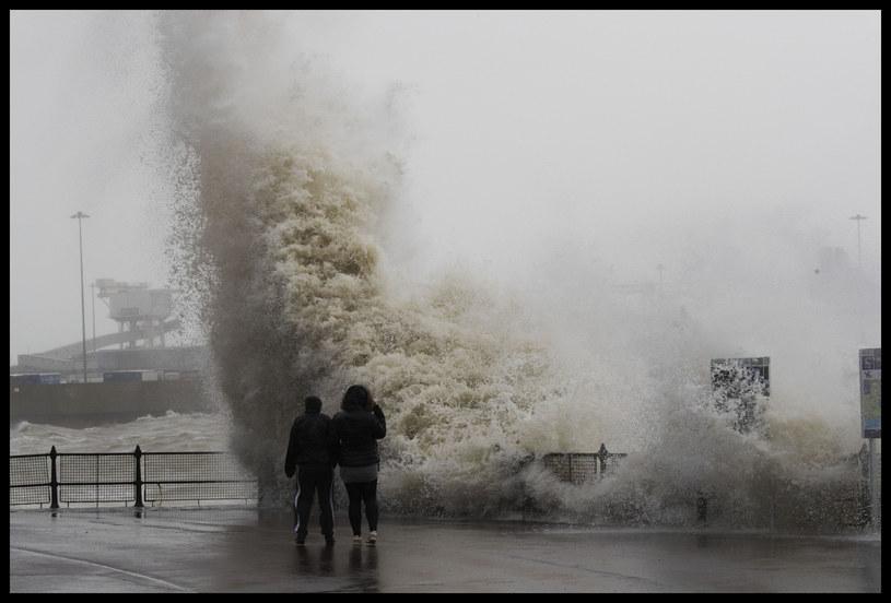 Fale wywołane przez sztorm Ciara, Wielka Brytania /Stephen Lock / i-Images/i-images /East News
