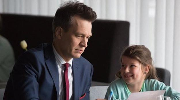 Falkowicz (Michał Żebrowski) i Matylda (Amelia Czaja) /www.nadobre.tvp.pl/