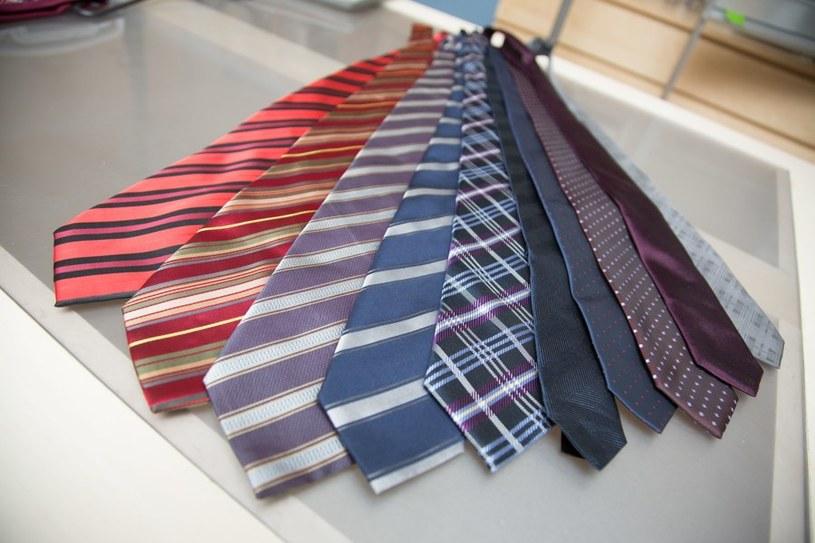 Falkowicz nigdy nie rozstaje się z garniturem (ma ich kilka w swojej szafie) i lubi zmieniać krawaty. /Agencja W. Impact