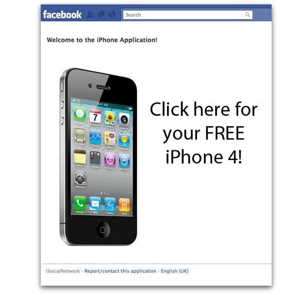 """Fałszywa aplikacja z """"darmowym"""" iPhonem przynosi zysk spamerom stojącym za oszustwem /materiały prasowe"""