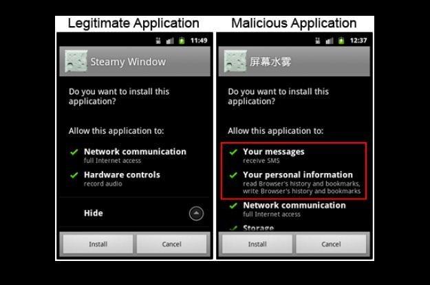 Fałszywa wersja Steamy Window żąda dostępu do wielu ustawień  SMS /materiały prasowe