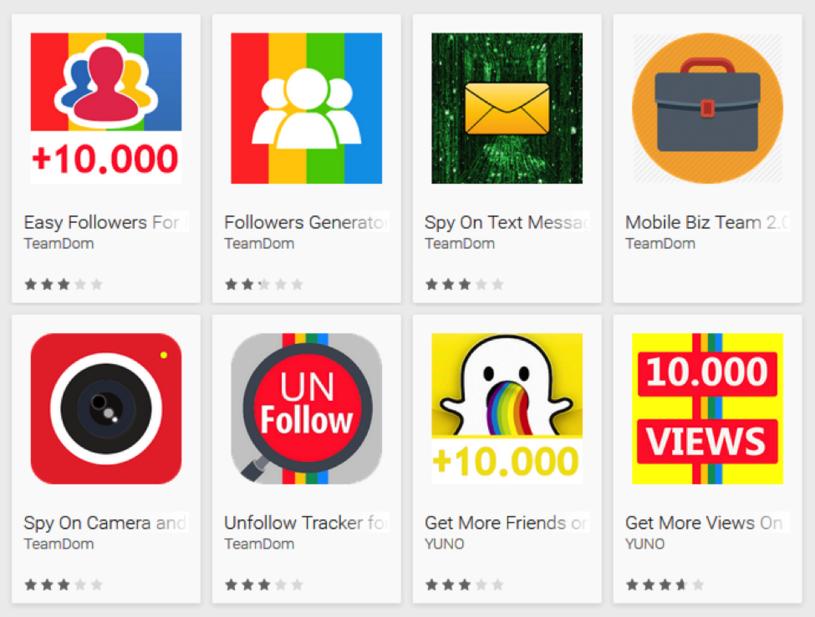 Fałszywe aplikacje w Google Play /materiały prasowe
