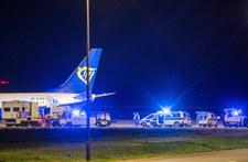 Fałszywy alarm bombowy w samolocie do Krakowa. Policja wszczęła śledztwo