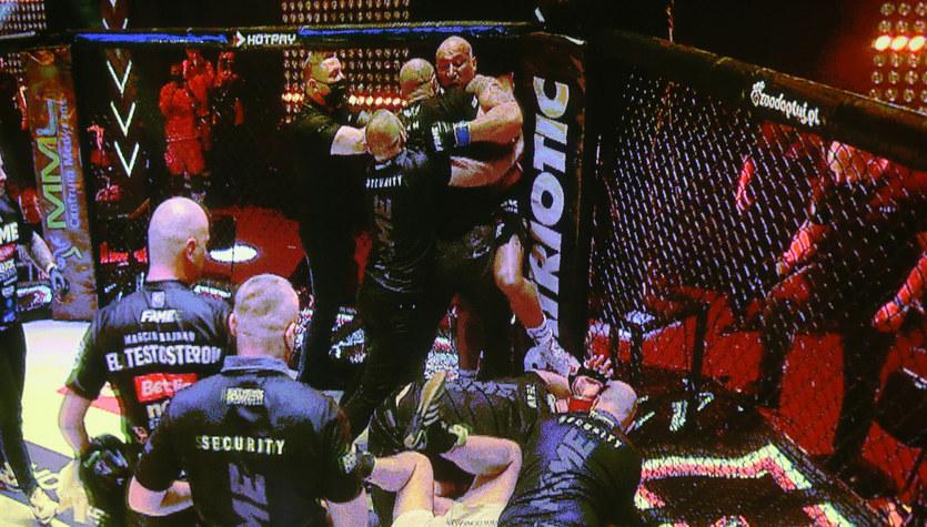 Fame MMA. Marcin Najman opowiada swoją wersję po skandalu w walce z Kasjuszem Życińskim