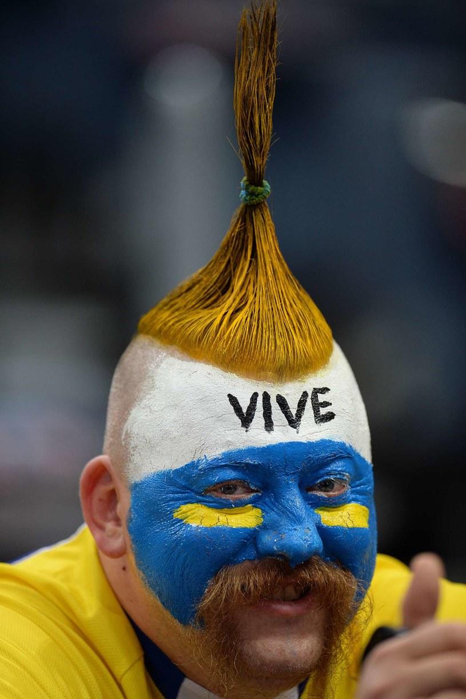 Fan Vive Tauronu Kielce /AFP