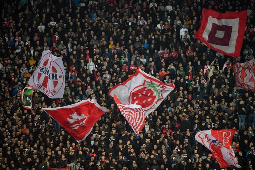 Fani Crvenej Zvezdy Belgrad /AFP