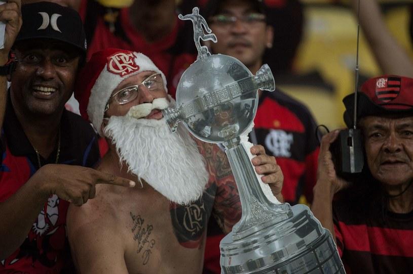 Fani drużyny Flamengo na Maracanie /AFP