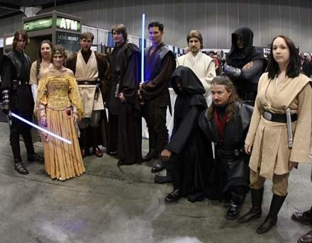 """Fani """"Gwiezdnych w ojen"""" podczas Star Wars Celebration w USA /AFP"""