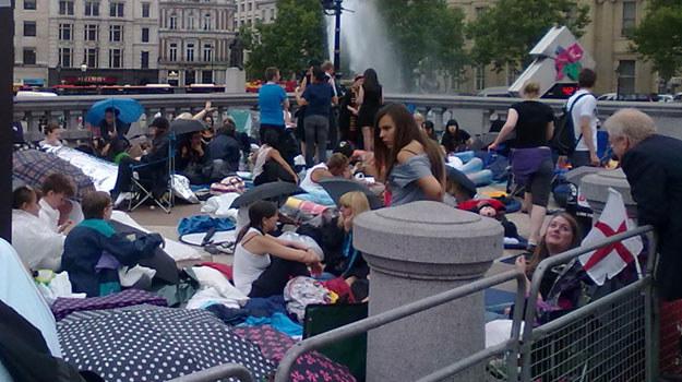 "Fani ""Harryego Pottera"" na Trafalgar Square /"