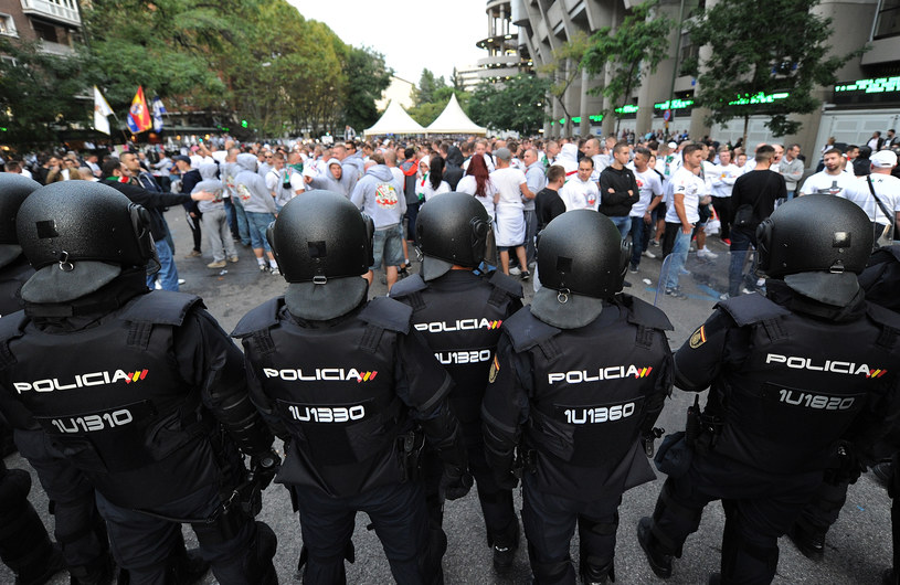 Fani Legii Warszawa w Madrycie /Denis Doyle /Getty Images