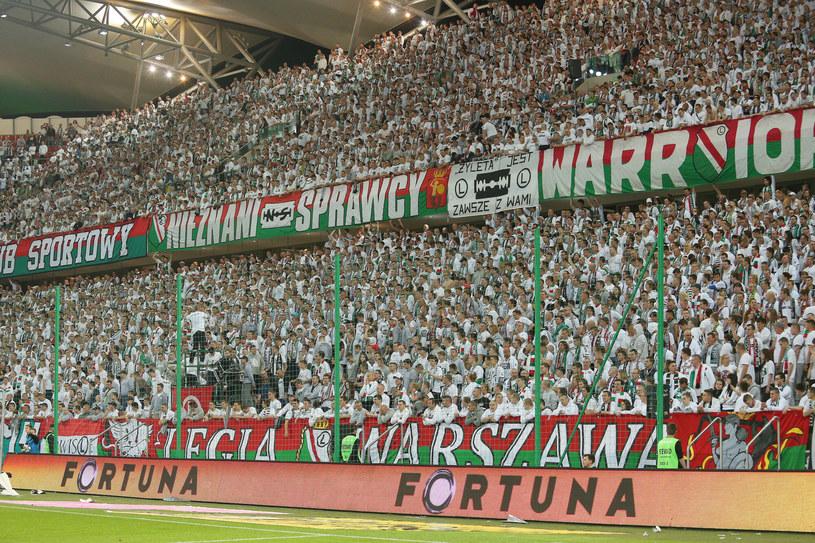Fani Legii Warszawa /Kamil Piklikiewicz /East News