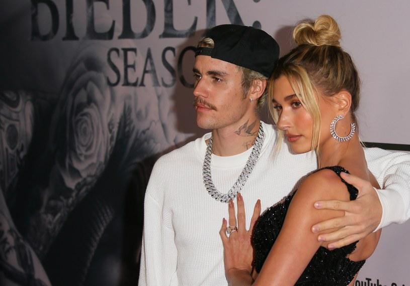 Fani martwią się, czy w małżeństwie Bieberów nie dzieje się nic złego. Film z kasyna ich przeraził /Jean Baptiste Lacroix /Getty Images