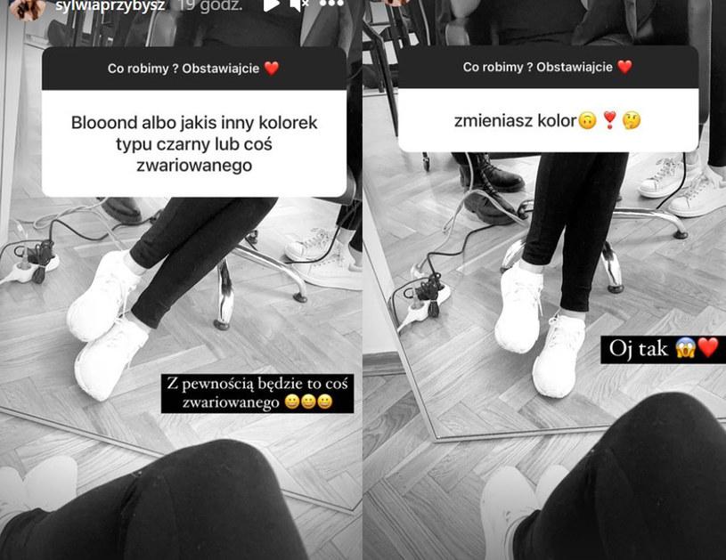 Fani Przybysz od razu obstawiali, że przemiana youtuberki będzie odważna fot. https://www.instagram.com/sylwiaprzybysz/ /Instagram /Instagram