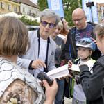 """Fani serialu """"Ojciec Mateusz"""" przyjechali do Sandomierza"""