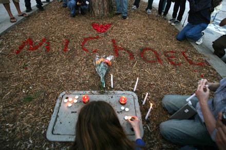 Fani żegnają Michaela Jacksona /Getty Images/Flash Press Media