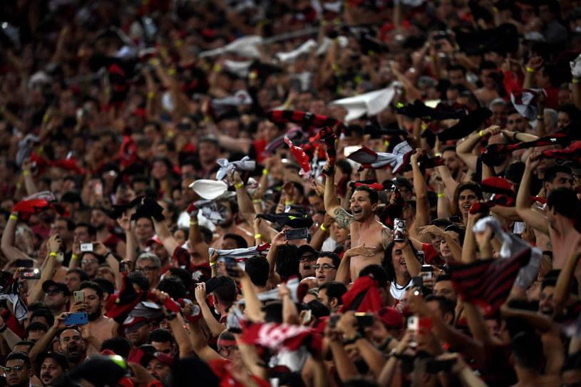 Fani zespołu Flamego podczas Copa Libertadores /AFP