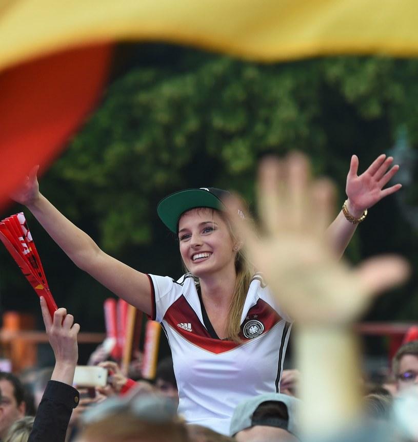 Fanka reprezentacji Niemiec /AFP