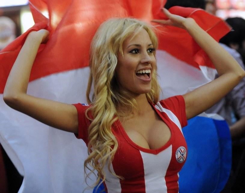 Fanka reprezentacji Paragwaju /AFP