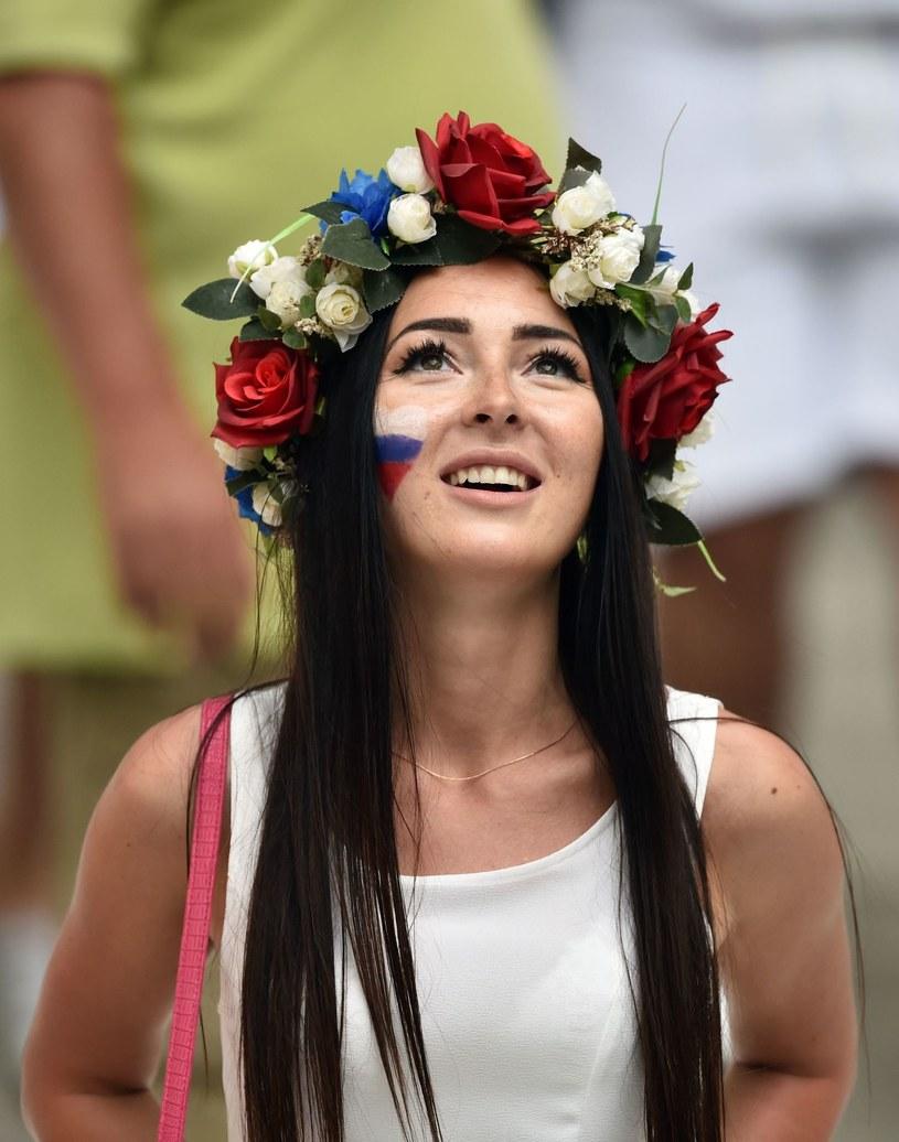 Fanka reprezentacji Rosji /AFP