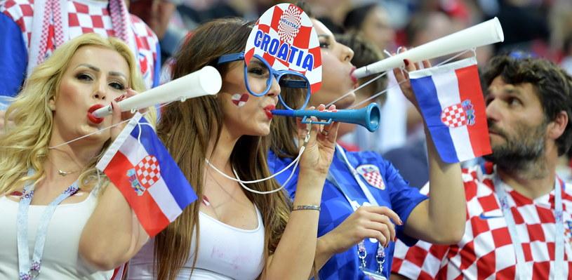 Fanki reprezentacji Chorwacji /PAP/EPA