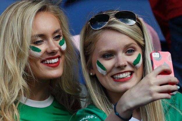 Fanki reprezentacji Irlandii Północnej /AFP