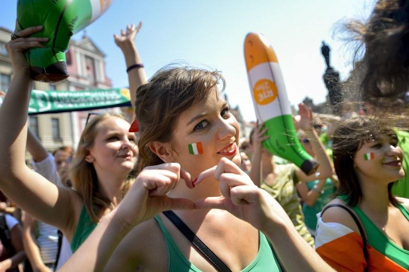 Fanki z Irlandii podczas Euro 2012 /AFP