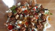 fantazja śledziowa z papryczką chili, serem gorgonzola i nutą orzechową