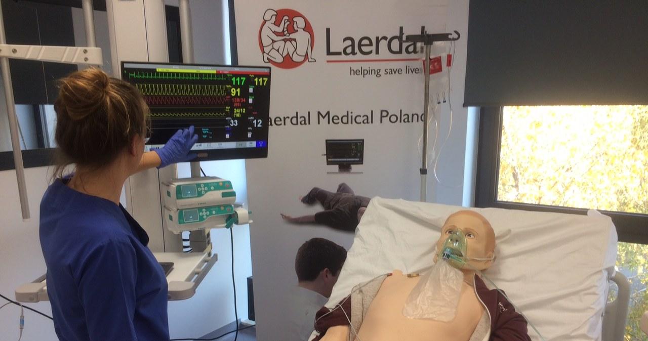 Fantomy jak ludzie. Odwiedzamy Centrum Symulacji Medycznej w Poznaniu