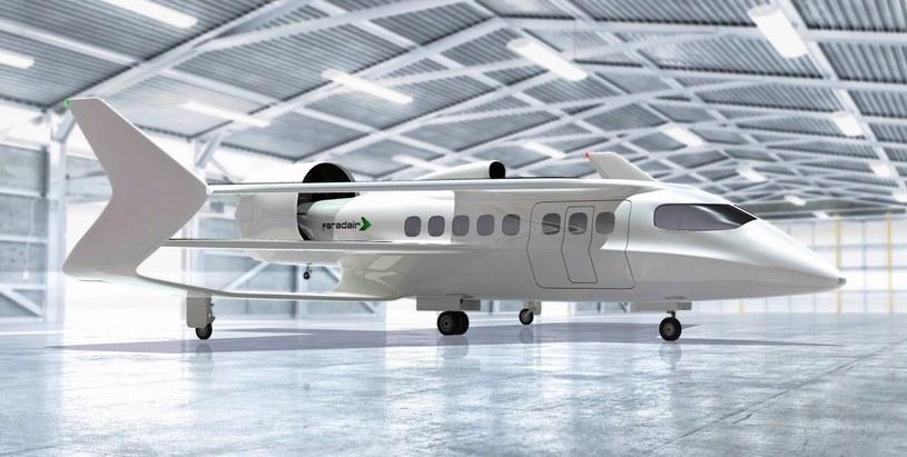 Faradair rozwija nowy, hybrydowy samolot /materiały prasowe