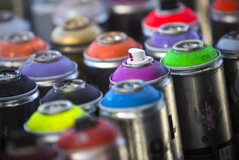 farba w sprayu /© Photogenica