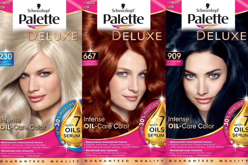 Farby do włosów Palette /Styl.pl/materiały prasowe