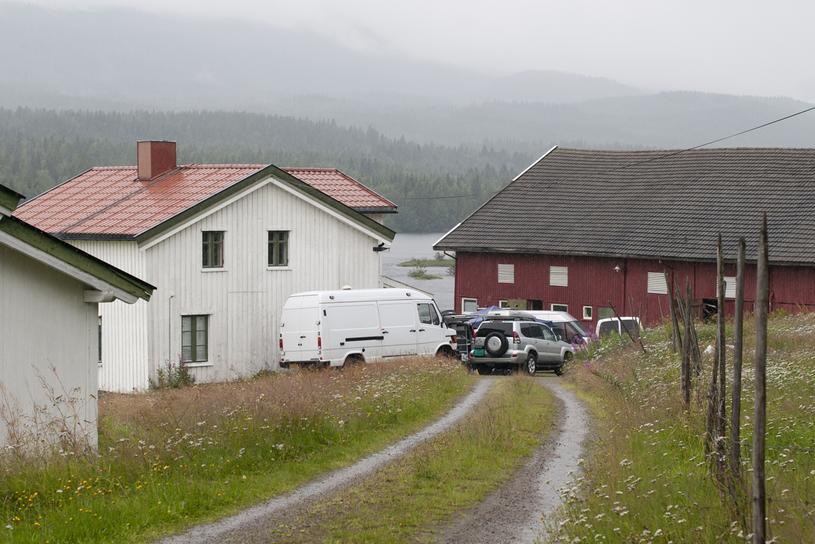Farma, na której Anders Breivik przygotowywał się do zamachu /AFP