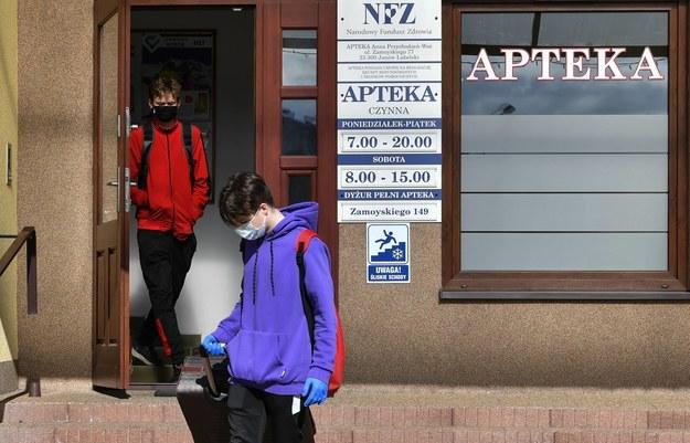 Farmaceuci chcą się przygotować na jesienną epidemię grypy i przeziębień /Wojtek Jargiło /PAP