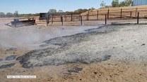 Farmer z Australii usmażył jajko na dymiącej ziemi. Miała ponad 210 stopni Celsjusza