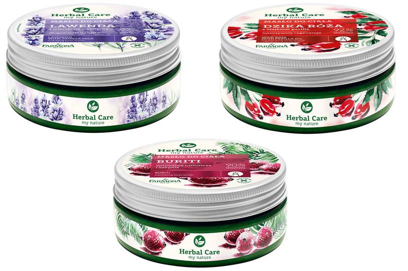 Farmona: Herbal Care masła do ciała /materiały prasowe