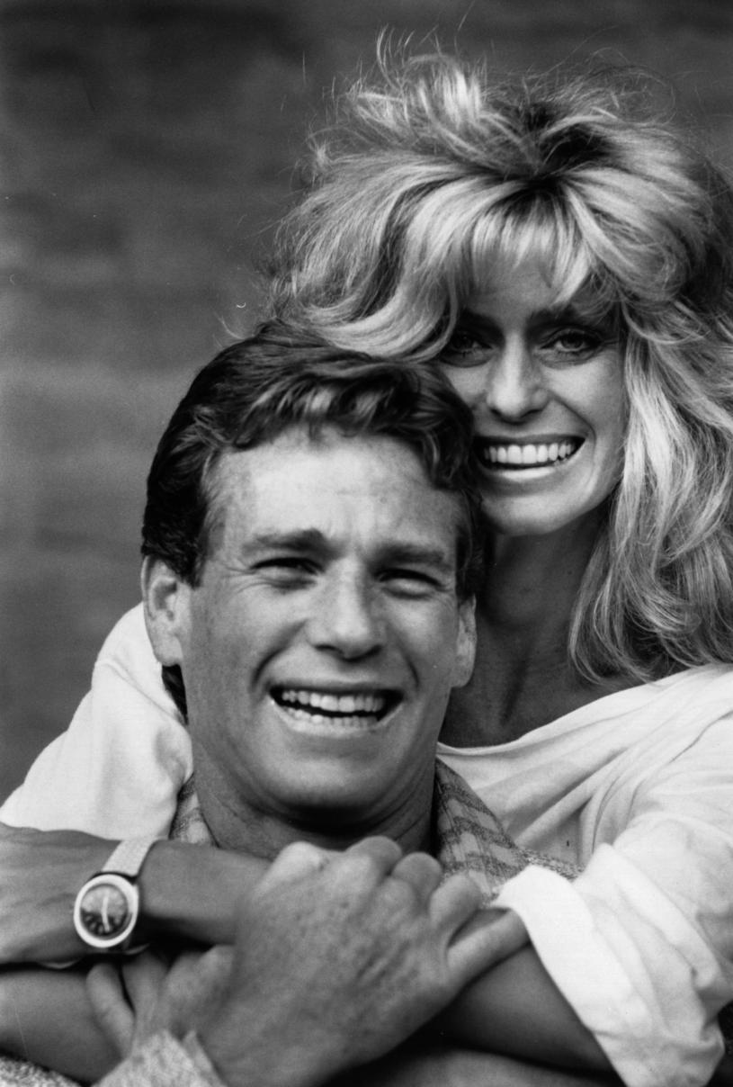 Farrah Fawcett i Ryan O'Neal w 1984 roku / Express Newspapers /Getty Images