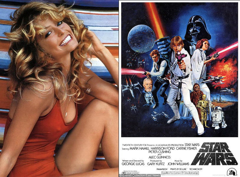 "Farrah Fawcett vs ""Star Wars"" /Everett Collection /East News"