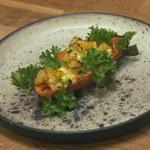 Faszerowane bataty z kuskusem i warzywami