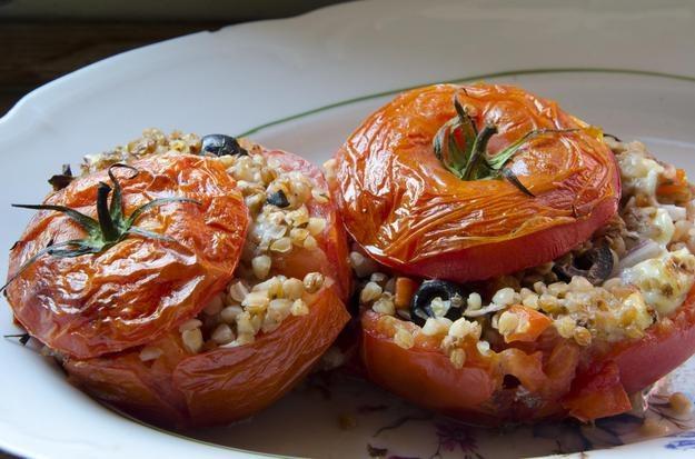 Faszerowane pomidory, fot. Malwina Zaborowska /RMF24