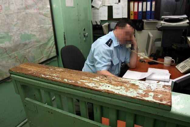 Fatalny stan techniczny komisariatu w Rudzie Śląskiej/fot. M. Szalast /East News