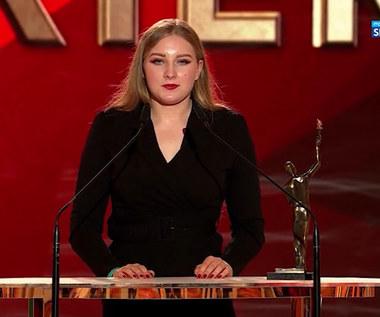 Faustyna Kotłowska z nagrodą w kategorii Sport bez barier (POLSAT SPORT). WIDEO
