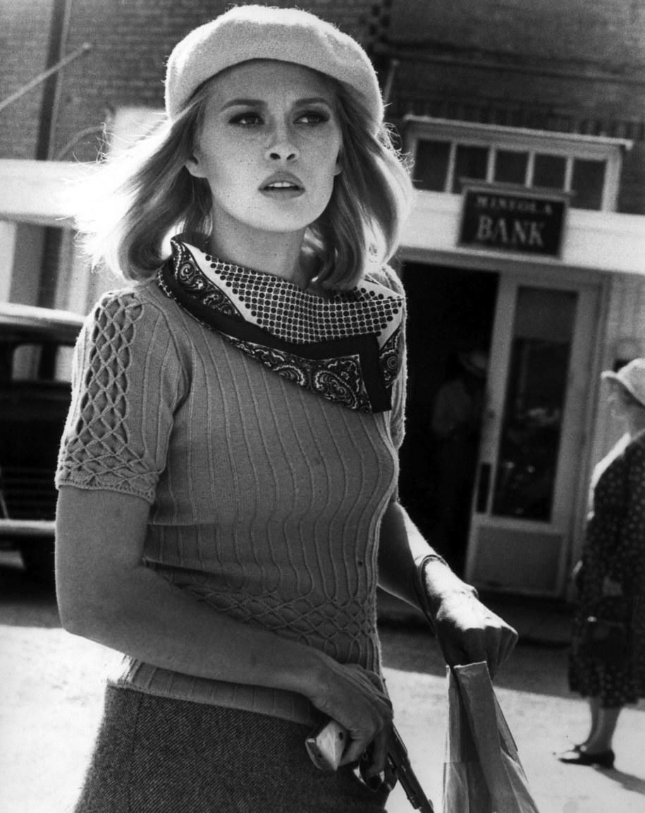 Faye Dunaway, gwiazda filmu o słynnym duecie /Photoshot    /PAP