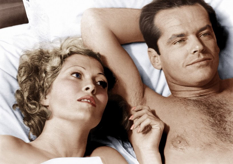 "Faye Dunaway i Jack Nicholson w scenie z ""Chinatown"" /Everett Collection /East News"