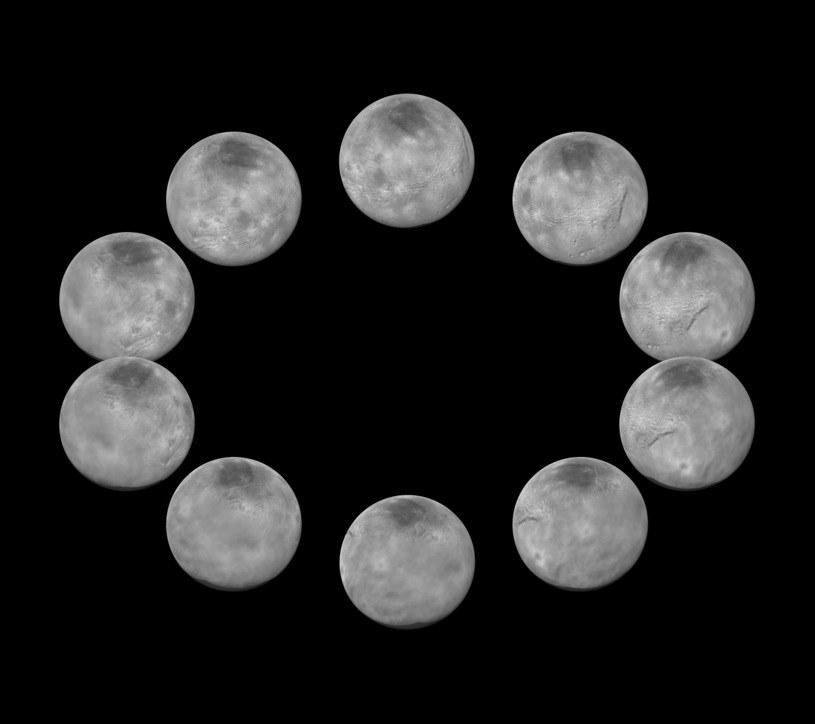 Fazy doby Charona /NASA