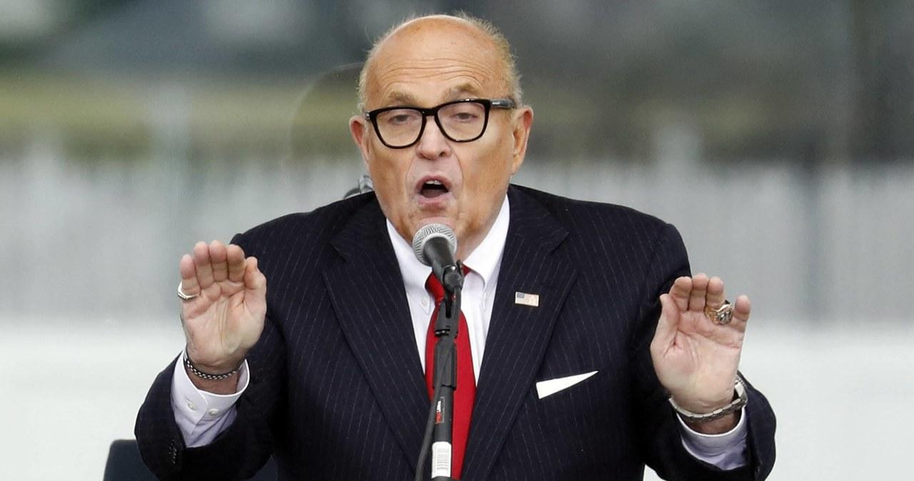 FBI przeszukało mieszkanie Rudy'ego Giulianiego. Skonfiskowano sprzęt