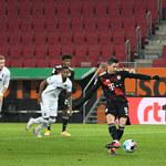 FC Augsburg - Bayern Monachium 0-1 w meczu 17. kolejki Bundesligi. Gol Lewandowskiego