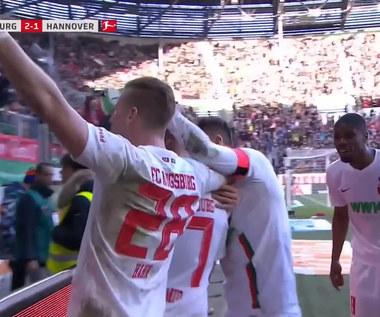 FC Augsburg - Hannover 96 3-1 - skrót (ZDJĘCIA ELEVEN SPORTS). WIDEO
