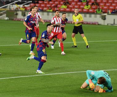 FC Barcelona - Atletico Madryt 2-2 w 33. kolejce Primera Division